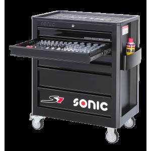 Тележка инструментальная S7 140шт, SONIC, 714040