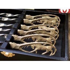 Набор шампуров ручной работы